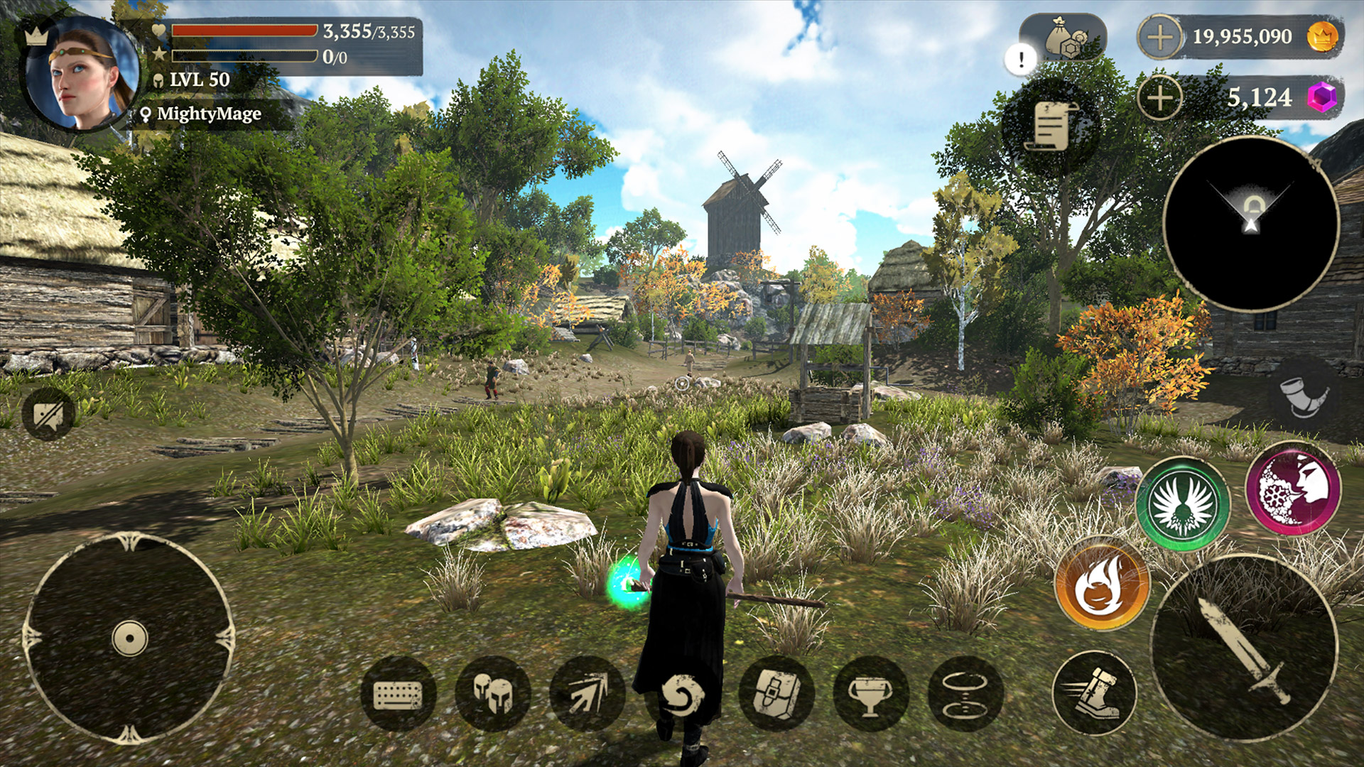 Top-tier multiplayer fantasy RPG for mobile